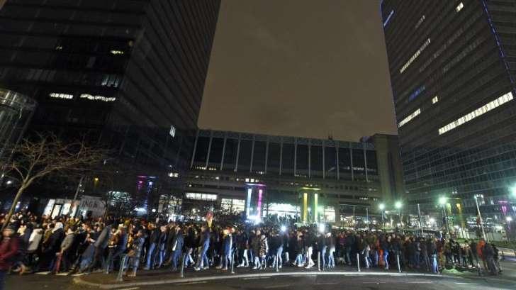 manifestation à Bruxelles 21.01