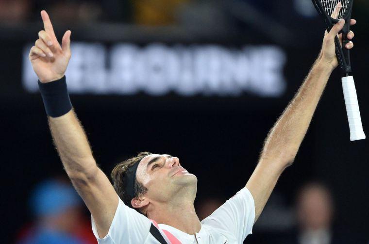 Roger Federer Melbourne 2018 1