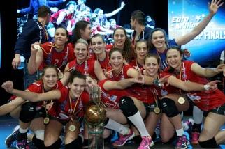 Antwerpen : Bekerfinale Vrouwen : Asterix Beveren - VC Oudegem : foto VDB / BART VANDENBROUCKE