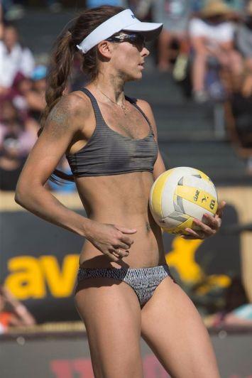 beach volley américaine