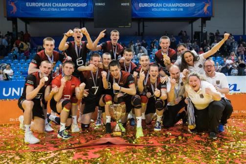 Allemagne Championne d'Europe U18 2018
