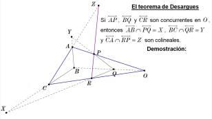 théorème de Desargues