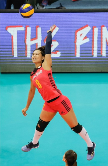 Chine - Brésil VNL 2018 1