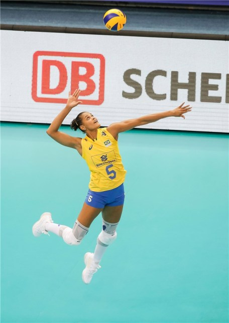 Chine - Brésil VNL 2018 2