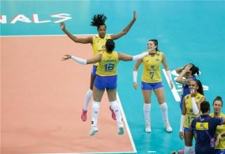 Chine - Brésil VNL 2018 3
