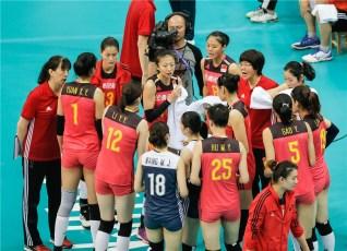 Chine - Brésil VNL 2018 7