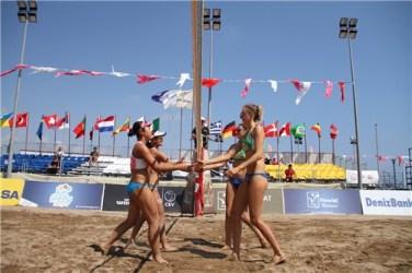 sarah et Lisa Antalya 2ème place 8