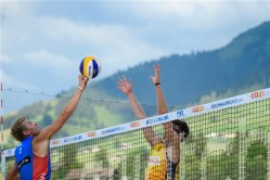 Gstaad 2018 Dries et Tom contre Mol-Sorum 2