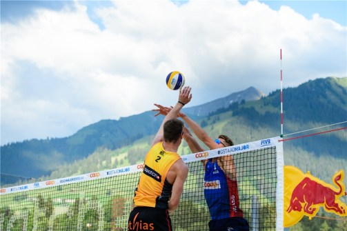 Gstaad 2018 Dries et Tom contre Mol-Sorum 4