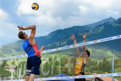 Gstaad 2018 Dries et Tom contre Mol-Sorum