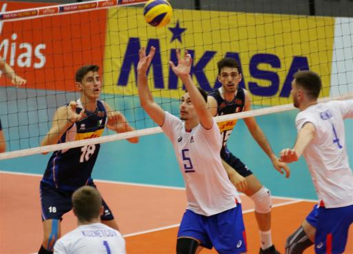 Italie - Russie U20 5