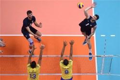 VNL 2018 Brésil - USA 1