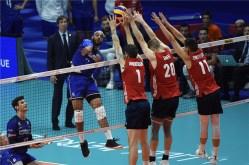 VNL 2018 France -USA 1