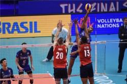 VNL 2018 France -USA 2