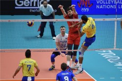 VNL 2018 Russie- Brésil 3