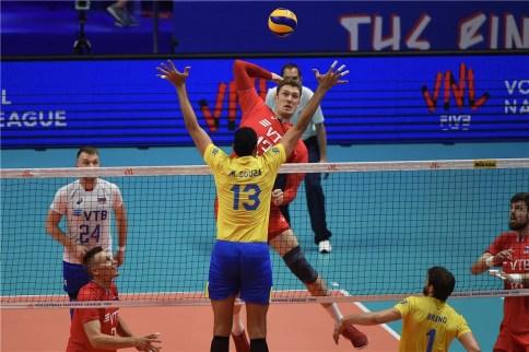 VNL 2018 Russie- Brésil 7