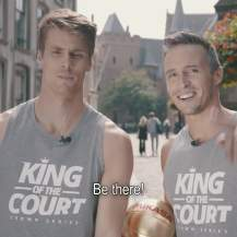 Dries et Tom King of the Court