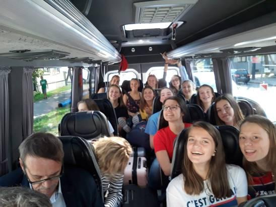 FVWB girls à Kaunas