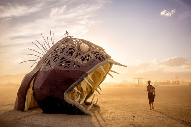 giant-deep-sea-fish-illumacanth-burning-man-2015