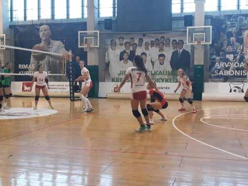 match FVWB à Kaunas 2018