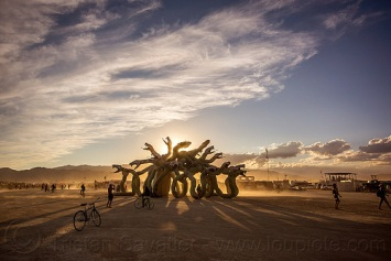 medusa-sunset-burning-man-2015
