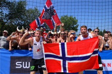 Supporters norvégiens