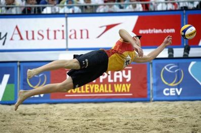 beachvolley belge allemand