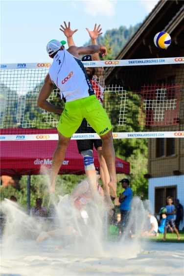 Beachvolley Gstaad 2
