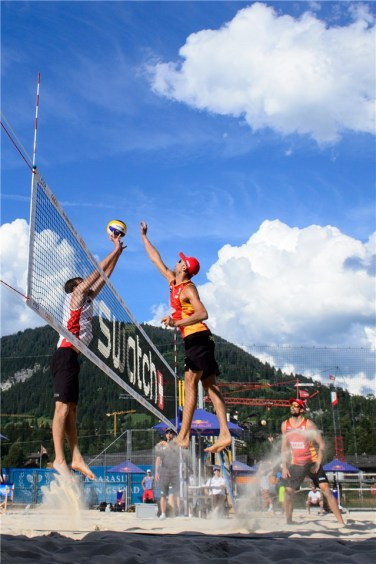 Beachvolley Gstaad 4