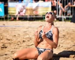Beachvolley Joie finlandaise Team Koljonen-Thuominen