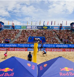 Beachvolley Klagenfurt Red Bull