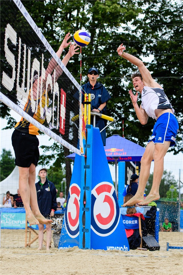beachvolley Klagenfurt Van Walle