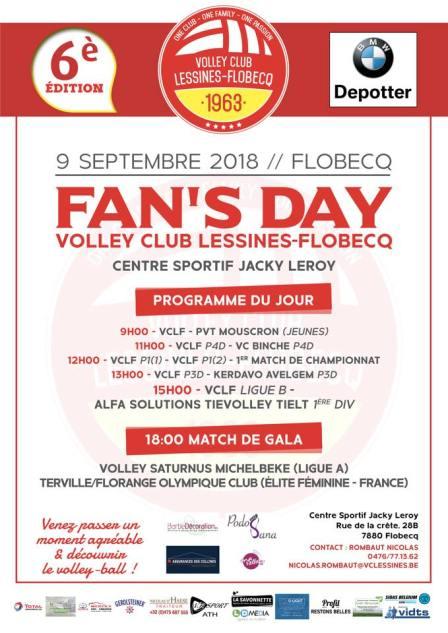 Fan's Day Flobecq