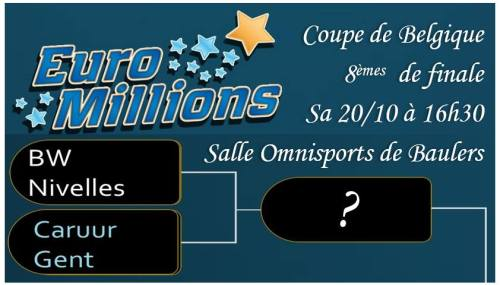 BW Nivelles annonce match