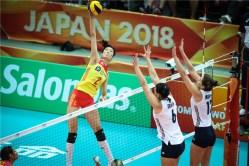 Chine - USA WC 2018 18