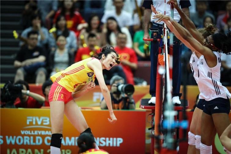 Chine - USA WC 2018 19