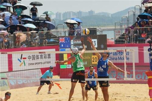 Qinzhou 2018 Dries et Tom 3ème place 5