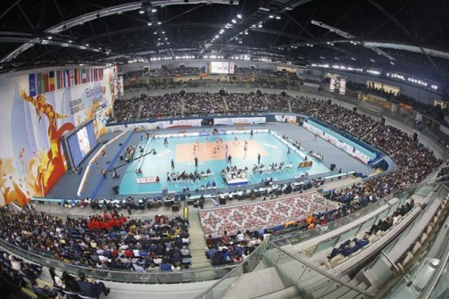baskent volleyball hall ankara