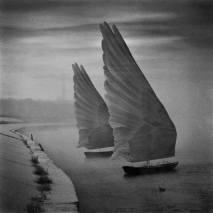 bateau de plume