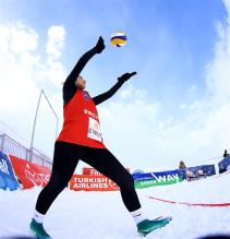 snow volley 10
