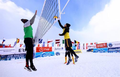 snow volley 2