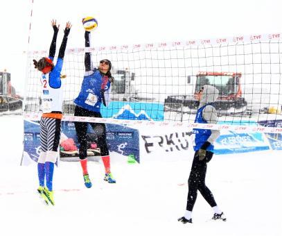 snow volley 5