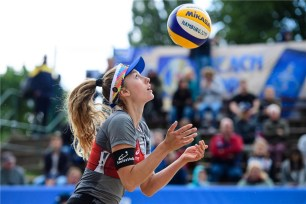 Beachvolley Switzerland's Nina Betschart