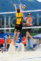 Beachvolley Tom et Dries Brouwer 1