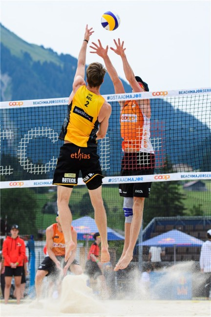 Beachvolley Tom et Dries Brouwer 2