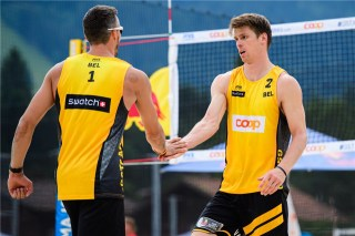 Beachvolley Tom et Dries Brouwer 4
