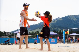 Beachvolley Tom et Dries Brouwer
