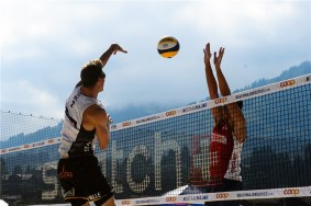Beachvolley Tom et Dries Bryl 1