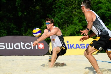Beachvolley Tom et Dries Bryl 2