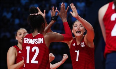 Femmes Volley US Succes
